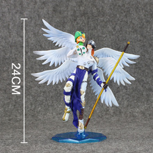 24cm Digital Digimon Figure Angemon Angewomon PVC Action Figure Digimon Colletion Model Toy(China)