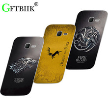 Cartoon Case For Samsung Galaxy Y Duos S6102 GT-S6102 GT-S6102B Hard Plastic Case Fashion Football Cover Game of Thrones 7