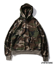 Best Quality 1:1 Fear Of God Camouflage Men Hoodies Military Pullover Hiphop Skateboard Brand Hoodies Streetwear Sup FOG VLONE(China)