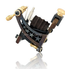 M06 Handmade New Fashion Tattoo Machine  Gun high quality Cast Iron Frame 8 Wrap Coil Dual-coiled Tattoo Machine Gun