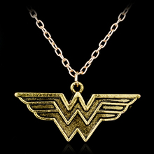 Wonder Woman Symbol Choker Necklace Movie Jewelry Super Hero Comic Anime Necklace Women Vintage Accessories Necklaces Collar