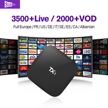 TX1 Android TV Box Quad Core Media Player with QHDTV/IUDTV Abaric iptv Live Channels Subscription 1 Year Europe Smart STB