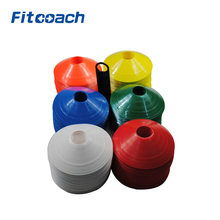 10Pcs PE Soccer Football Speed Agility Training Saucer Disc Cones/Sport Field Training Equipment(China)