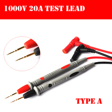 Type A  Digital Multimeter  Universal  Superfine pen 1000V 20A Test Lead Probe Cable SMD SMT Needle Tip