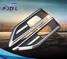 Wholesale For CHEVROLET Chevy CRUZE Aveo Sail ABS Chrome trim Signal Lamp cover Light Side Emblem decoration trim Sport style
