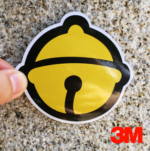 [Black Yellow Doraemon Bell Cat]Car Styling Waterproof 3M Gray Sticker Motorcycle Skateboard Trolley Laptop Doodle Decals 2016