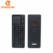 Zoweetek 2 in 1 2.4G IR Rii Mini i6 Universal Remote Wireless Keypad 72 keys Keyboard Wireless 27 LEDs Backlight Touchpad