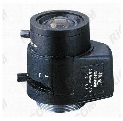 1/3 CS 3.5-9mm manual iris lens<br>
