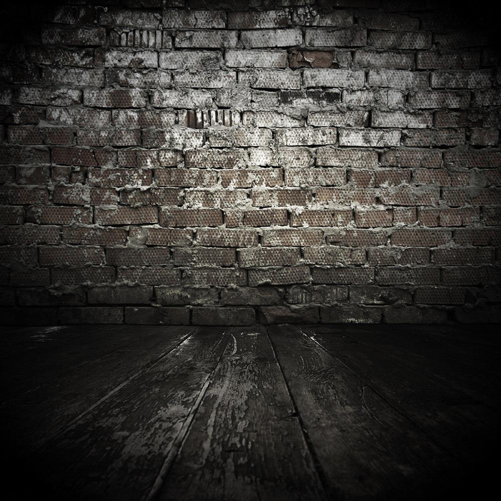 SHANNY 8x8FT  Brick Wall &amp; Wooden floor theme Vinyl Custom Photography Backdrops BW160<br>