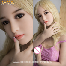 Buy AYIYUN Real Silicone Sex Dolls Adult Japanese Love Doll Mini Vagina Lifelike Anime Realistic Sexy Toys Men Big Breast