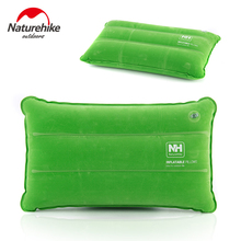 Naturehike Inflated Pillows Compressed Folding Non-slip Pillow Suede Fabric Use For Travel Outdoor NH18F018-Z(China)