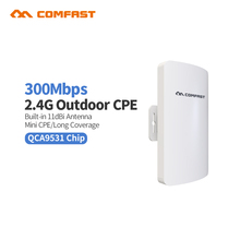 2Pc Comfast CF-E110N 300M Outdoor CPE 2.4G wi-fi Ethernet Access Point Wifi Bridge Wireless Range Extender CPE Router ap
