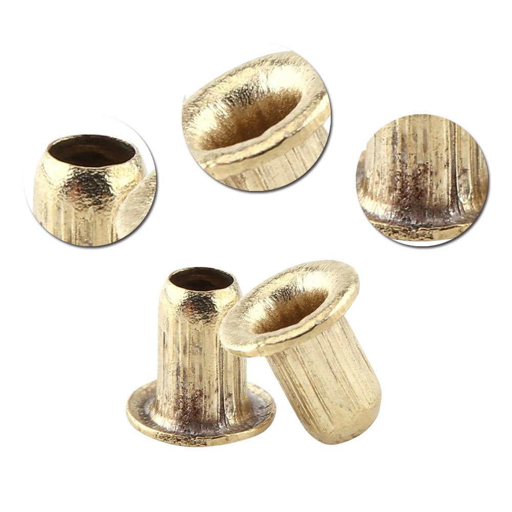 1000* Beekeeping Brass Eyelets Wire Thread Line String Hole Holder For Bee Frame