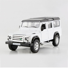 Defender 110 White 1/36 alloy models model car SUV car Diecast Metal Pull Back Car Toy For Gift Collection(China)