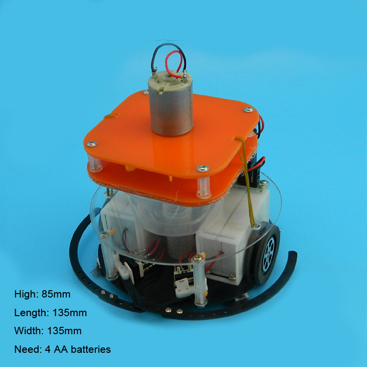 Dust suction car Robot  Remote control play  DIY Robot   Popular Science model of scientific experiments for schoolchildren<br>
