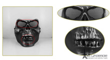 Free Shipping CS M02 Full Face Protection Skull Masks Scary Cool Paintball Masks Toys Halloween Costumes Horror Prank Joke Gifts(China)