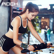 Rock Universal Wrist Case for iPhone 7 6s 5 5S Running Sport Cover Holder for Samsung Galaxy Huawei Cycling Case Cover