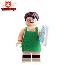 2017 New Single Sale KL058 Blocks Designer Walter White Apron Breaking Bad Model Building Blocks Super Hero Bricks Kids DIY Toys