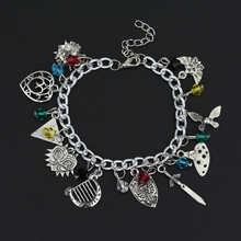 Charm a bracelet in Women Accessories Hot Game Jewelry The Legend Of Zelda Pendants Bracelets Chain Bangle Birthday present