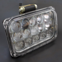 5 inch 75w Led Hi/low beam Spot/Flood headlight 12/24/48/60/72v Car headlamp Offroad truck driving fog light led working lights(China)