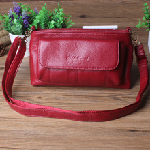 Gold Coral women's genuine leather bag female casual shopping travel messenger bag for women woman shoulder Handbag