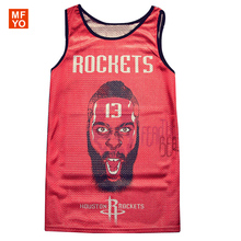 5XL Summer Brand Tank Tops Men 3D Print Team Jersey Quick Dry Fitness Jordan Vest Fitness throwback jersey