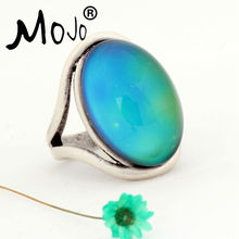 Mojo Mood Ring Boho Beach Vintage Rings For Women Gift Free Delivery Wholesale MJ-RS022(China)