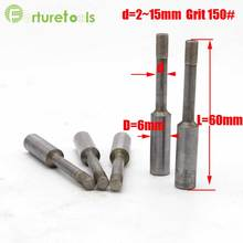 20pcs diamond coated mounted rod customized grinding head for jade grinding diamond tools manufacturers in China DM02702(China)