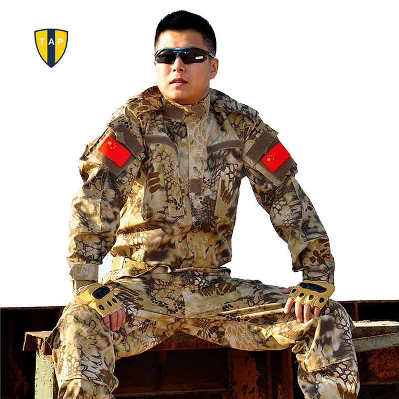 Army Military Uniform Tactical Suit Equipment BDU Desert Camouflage Combat Airsoft CS Hunting Uniform Clothing Set Jacket Pants<br><br>Aliexpress