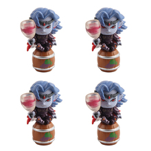 10 PCS Red Wine Monster Cute Caron Doll 45mm Twist Egg Twist Egg Color Toy Doll Spot T103(China)