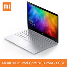 Xiaomi Mi Notebook Air 13.3 Inch Laptop Fingerprint Recognition i5-7200U Intel Core 8GB 256GB SSD Windows 10 Ultrabook Original(China)