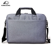 Kingsons Waterproof High Quality Laptop Handbag for 12 13 14 15 Inch Computer Bussiness Travel Men and Women Notebook Bag 2017(China)