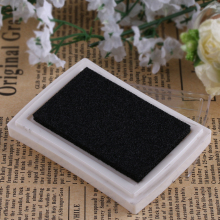 1PC Fashion Oil Based DIY Craft Ink Pad Rubber Stamps for Fabric Wood Paper Wedding