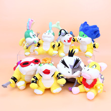 8pcs/set Super Mario Koopalings Plush Toys Wendy LARRY IGGY Ludwig Roy Morton Lemmy bowser O.Koopa Plush Toys(China)