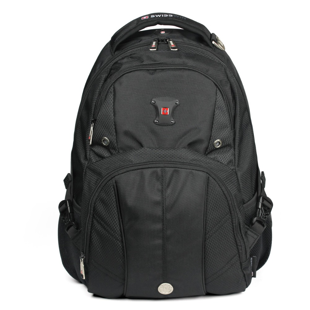 Swisswin Swiss Brand Men Daily Backpack bag 14 15 15.6 Laptop Backpack  Nylon notebook bag with iPad sleeve sac portable 2016<br><br>Aliexpress