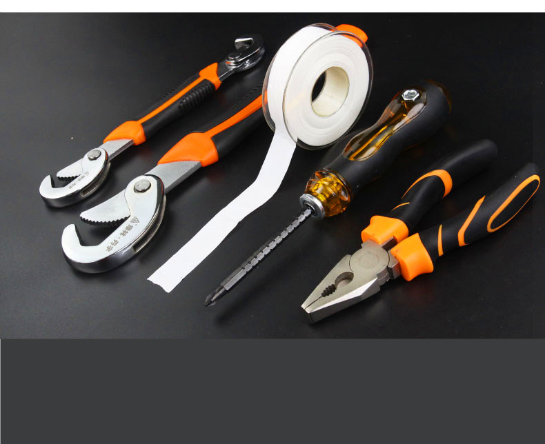 2PC Multi-Function Universal Wrench Set Snap and For Nuts and Bolts of All Shapes and Sizes Screwdriver pliers spare parts <br><br>Aliexpress