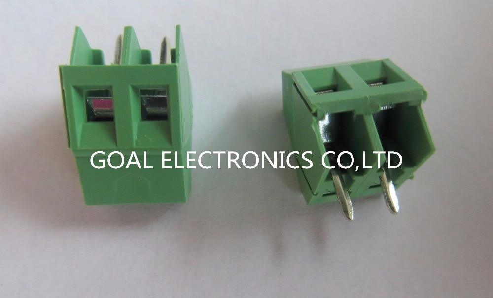 KEFA terminals KF103-2P 5.085MM 300V/10A a pack of 500<br>