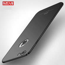 Original MSVII Case For Apple iPhone 6s Plus Hard Frosted PC Back Cover 6 Plus 360 Full Protection Housing For iPhone6 6Plus
