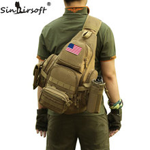 SINAIRSOFT 14inches Laptop Molle Military Backpack Men Nylon Sports Bag Shoulder Sling Waterproof Men's Travel Tactical Backpack