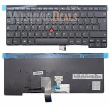 New Non-Backlit keyboard for Lenovo ThinkPad T431s T440 T440p T440s T450 T450s T460 German layout Black