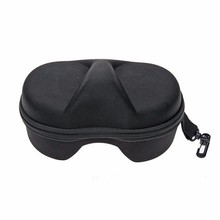 Diving Mask Scuba Glasses Case Protector Container Box For Gopro 3+ 4 Black for xiaomi yi 4k sj4000 sj5000 camera accessories(China)