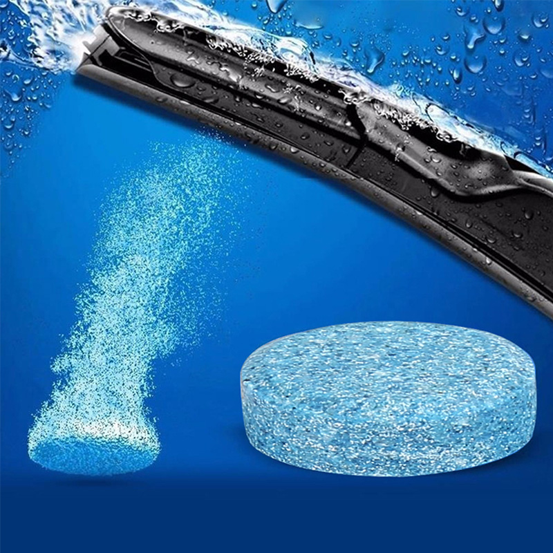 5PCS =20L Liplsating Car Windshield Cleaning Car Accessories Glass Cleaner Car Solid Wiper Fine Wiper Car Auto Window Cleaning(China)
