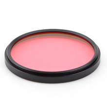 62MM Accessory Complete Full Color Special Filter for Digital Camera Lens pink(China)