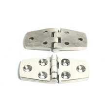 Marine Boat 316 Stainless Steel Deck Hinge 6 Holes 38*76*4mm 1.5*3 *0.16 Inch(China)