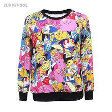 Kawaii Clothes New Mens Womens Pink Full Printed Hoodies Women Cartoon 3D Anime Print Casual Sweatshirt Hoodies Soft Jumpers Hot