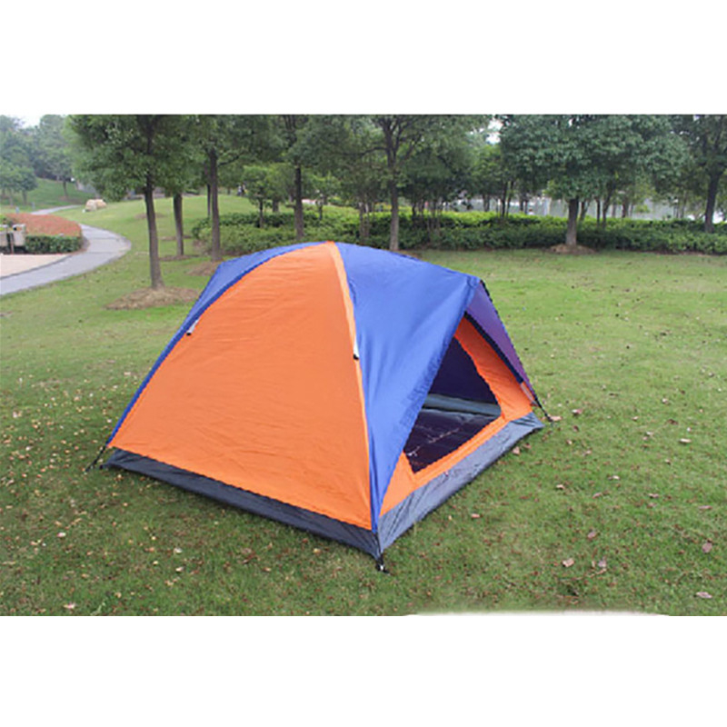 Outdoor Camping 2 Person Super Big Tent Double Layer Waterproof Large Space Tent Fishing Hanting Beach Tent 200140110cm (4)