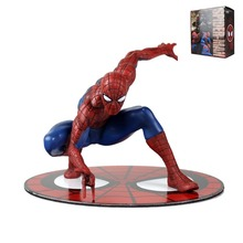 Marvel The Amiazing Spider-Man Magnet Statue Figure Collectible Model Anime Kids Toys 1/10 Scale DC002024