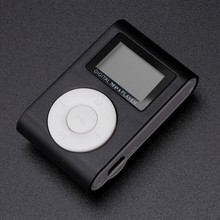 Hot Sale Mini USB Clip MP3 Player LCD Screen Sport MP3 Music Player Support 32GB Micro SD TF Card As A Card Reader #OR