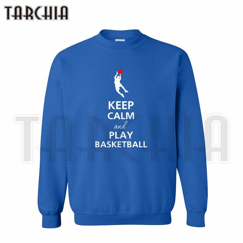 TARCHIA free shipping European Style fashion men hoodies keep calm play pullover crew neck sweatshirt personalized man coat
