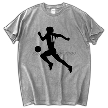 MARADONA 10 men T-shirt fashion summer tee shirt male tops